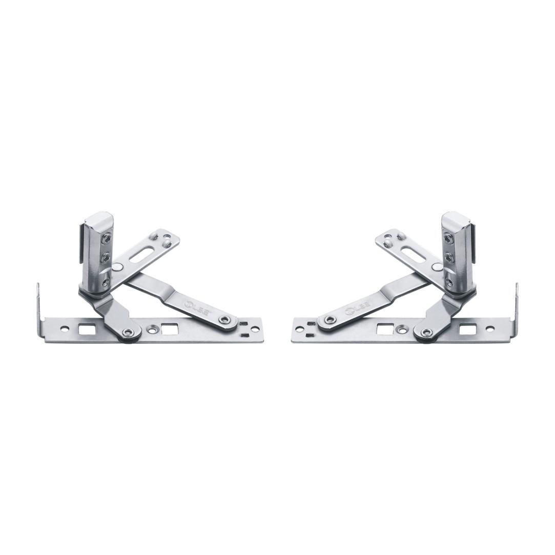 90度标准型侧固式隐形铰链
